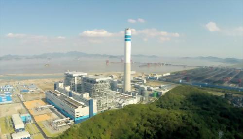 大唐乌沙山电厂主接线图
